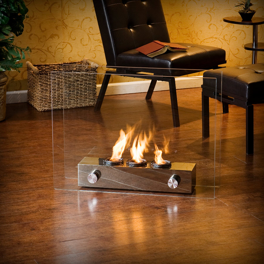 A portable gel fireplace | PortableFireplace ...