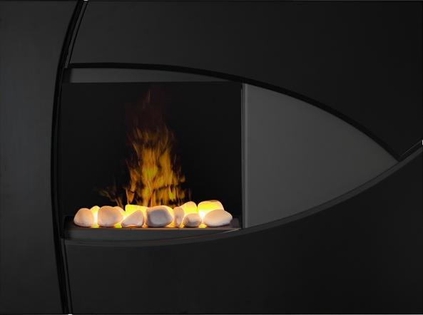 Dimplex Brayden OptiMyst Black Wall Mount Electric Fireplace