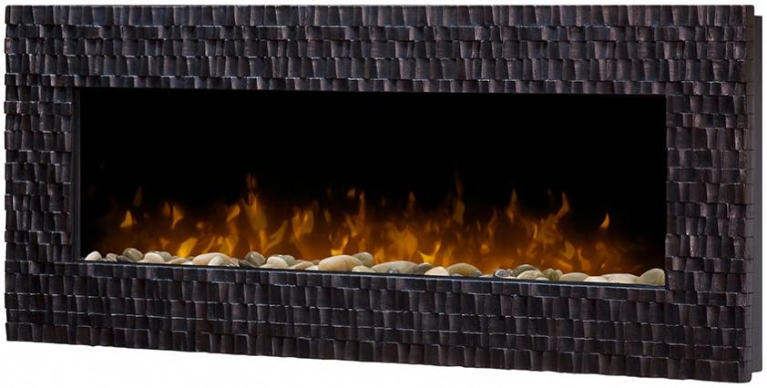 Dimplex Wakefield Espresso Wall Mount Fireplace