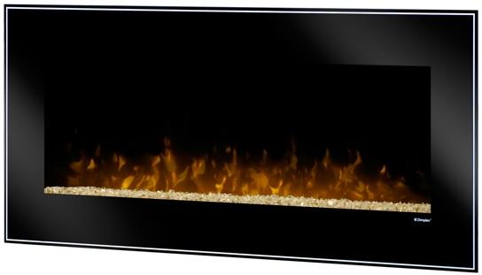 43 inch Dimplex Dusk Wall Mount Fireplace