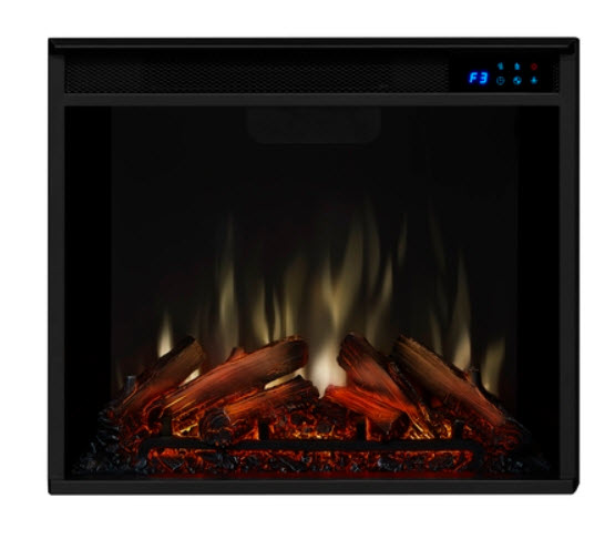 """23"""" Real Flame Infrared Electric Fireplace With Logs"""