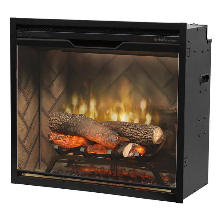 """24"""" Dimplex Revillusion Built-In Firebox With Logs"""