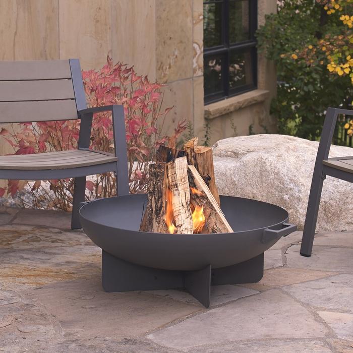 "35.5"" Anson Wood Burning Fire Bowl"
