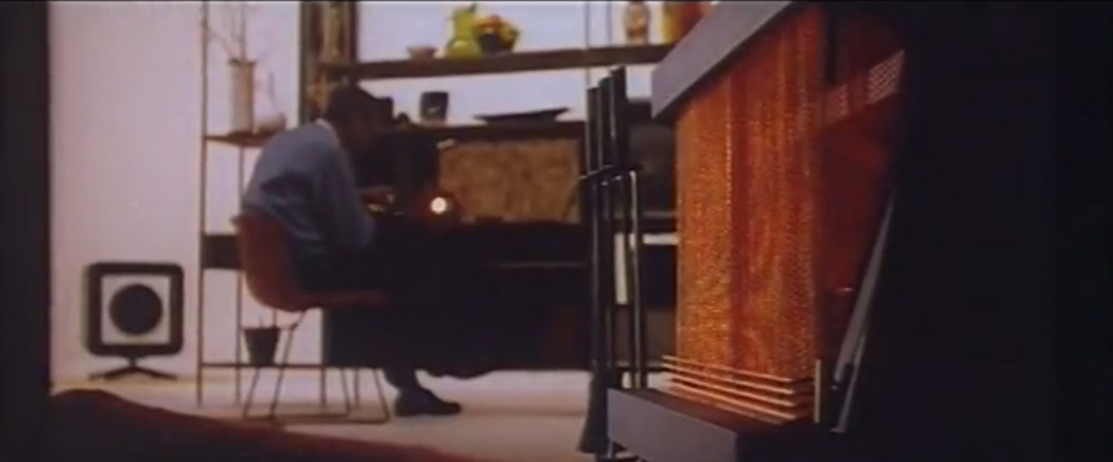 Mid-Century Modern American Electric Fireplace Commercial