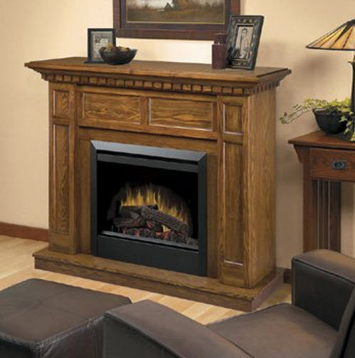 Caprice Oak Electric Fireplace