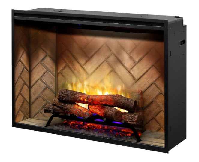 The 5 Most Realistic Electric Fireplaces Portablefireplacecom