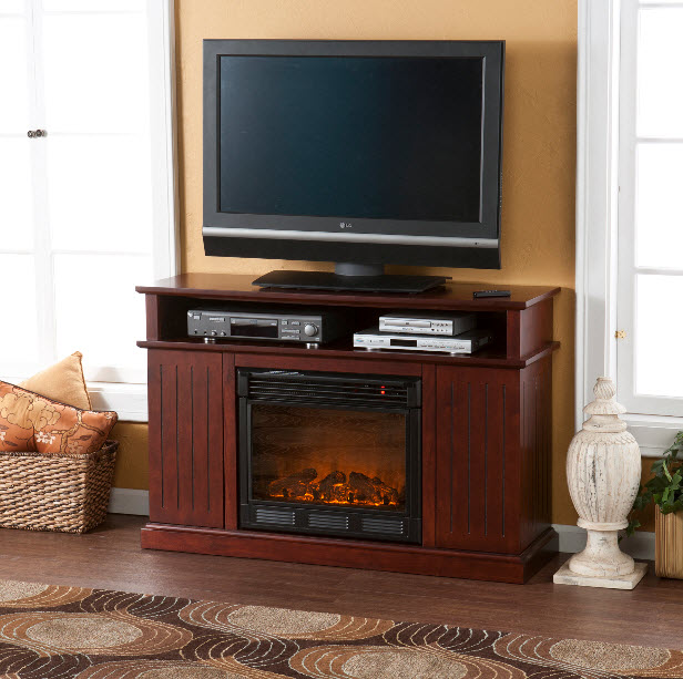 Rustic Electric Fireplaces I Portable Fireplace ...