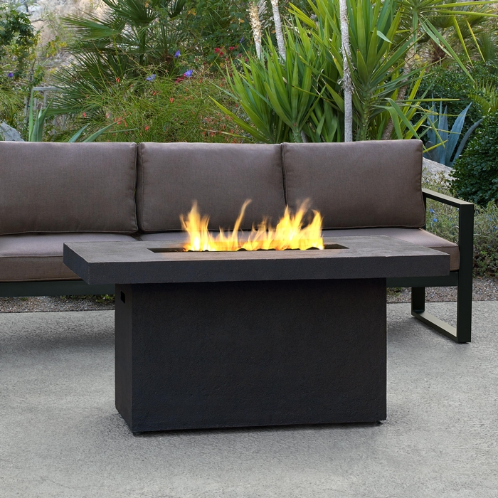 """49"""" Ventura Rectangle Chat Fire Table?"""