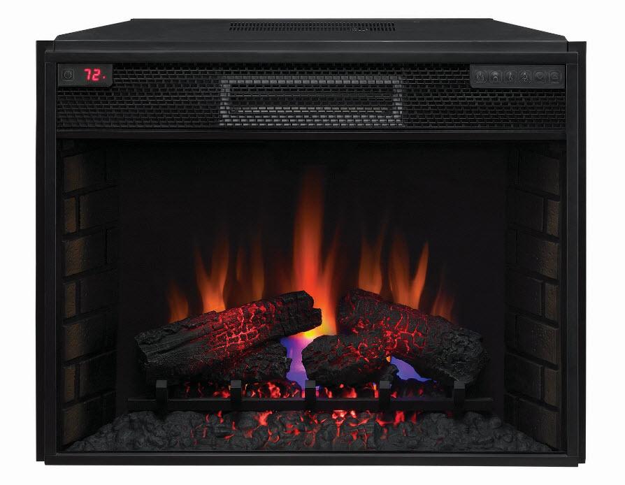 "28"" Spectrafire+ Infrared Quartz Electric Fireplace Insert - 28II200GRA"