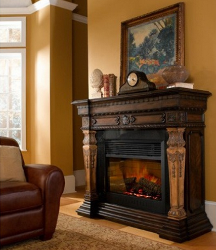 rustic electric fireplaces i portable fireplace