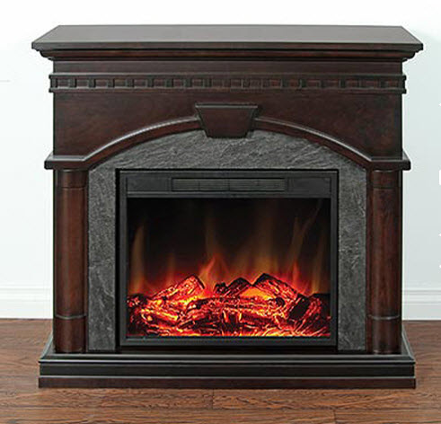 St. John Countrified Electric Fireplace