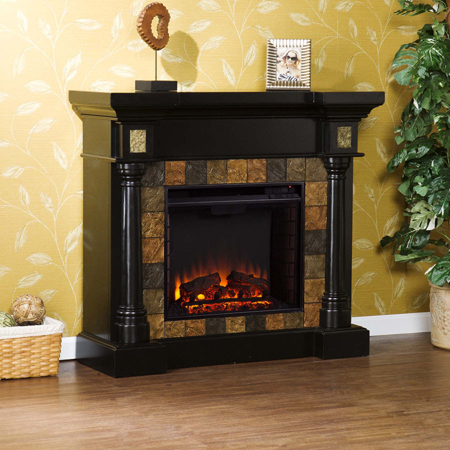Rustic Corner Electric Fireplaces Holly Martin Weatherford Convertible Fireplace