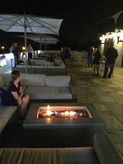 Seating Around Rectangle Fire Pit