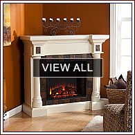 Attractive Corner Electric Fireplaces