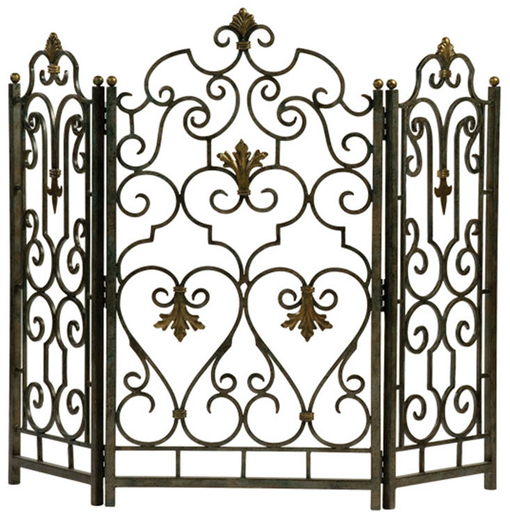 Fireplace Design cast iron fireplace screen : Ambella Electric Fireplaces and Fireplace Mantels for Sale