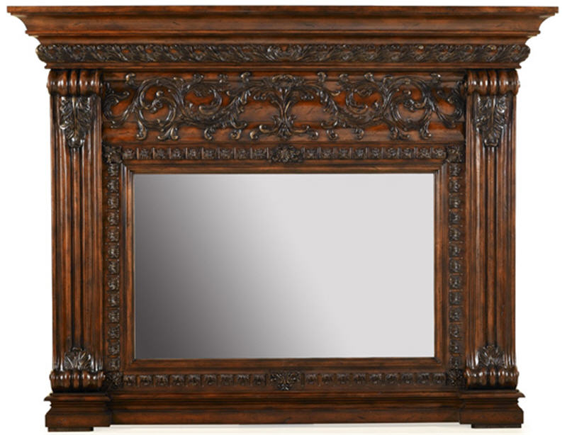 83 Casa Bella Mantel Mirror Dark