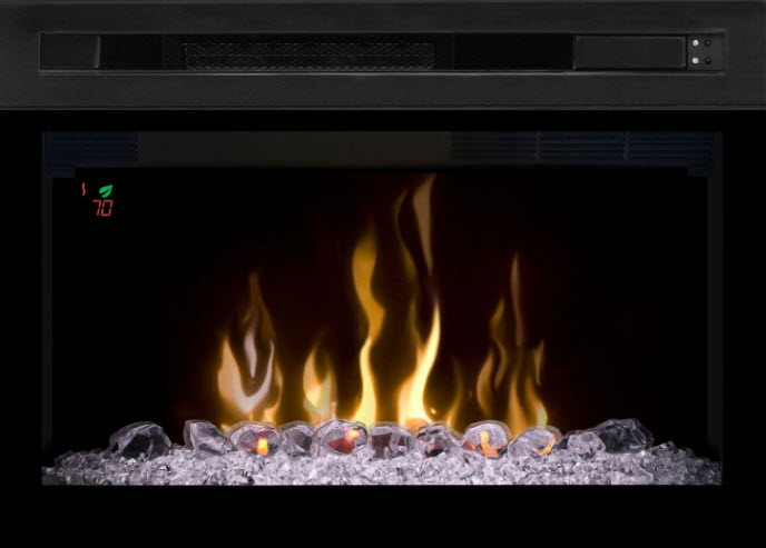 Amazing 26 Dimplex Acrlyic Ice Media Bed Multi Fire Electric Fireplace Insert Pf2325Hg Home Interior And Landscaping Sapresignezvosmurscom