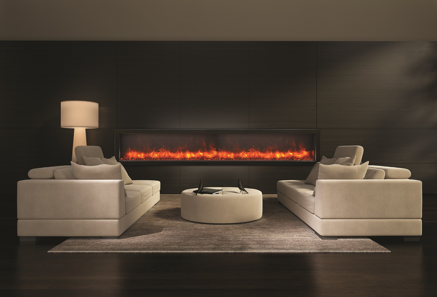 88 Amantii Electric Deep Built In Electric Fireplace