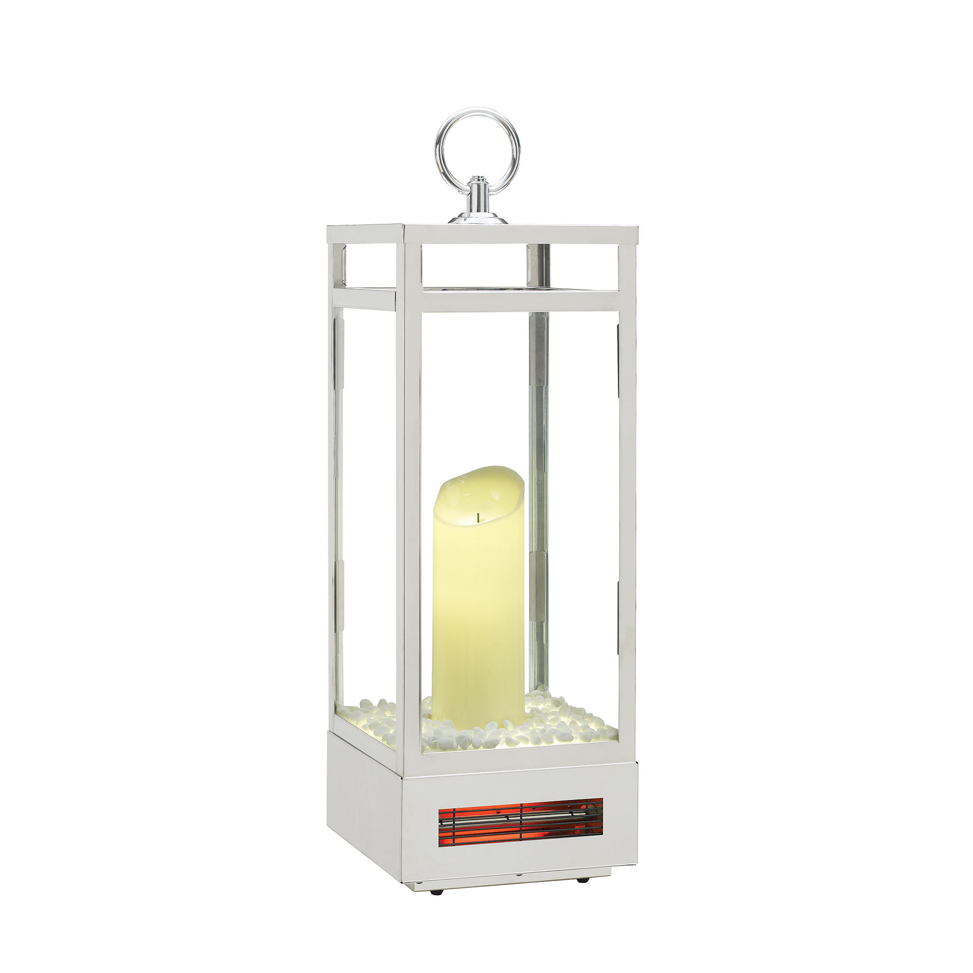 29 Quot Portable Electric Forced Air Flameless Candle Lantern