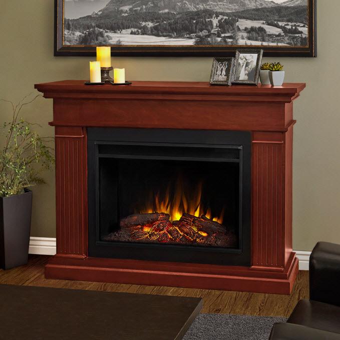55 5 Kennedy Grand Dark Espresso Electric Fireplace
