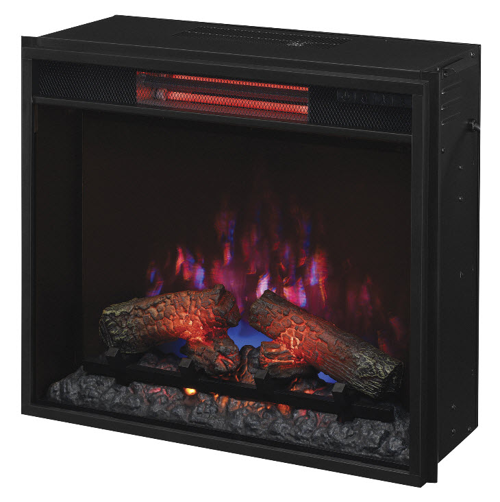 Fireplace Design infrared fireplace heater : 23.74'' Classic Flame Fixed Glass Spectrafire Infrared Quartz ...