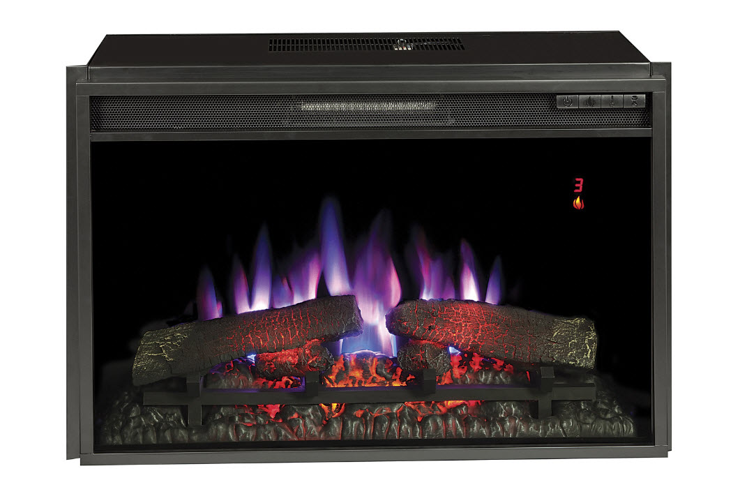 26'' Classic Flame Electric Fireplace Insert - 26EF031GRP
