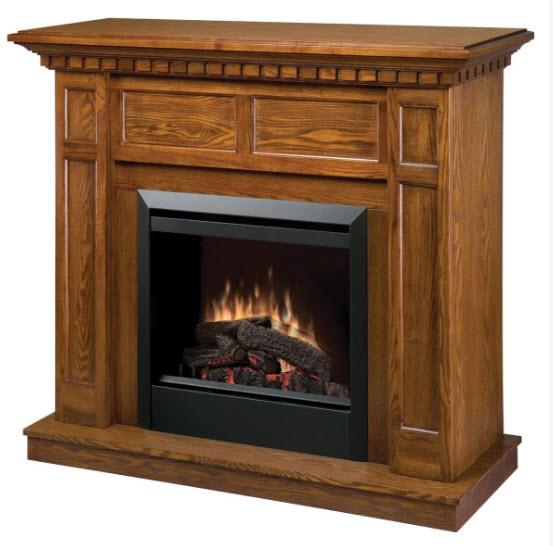 48 25 Quot Dimplex Caprice Oak Electric Fireplace