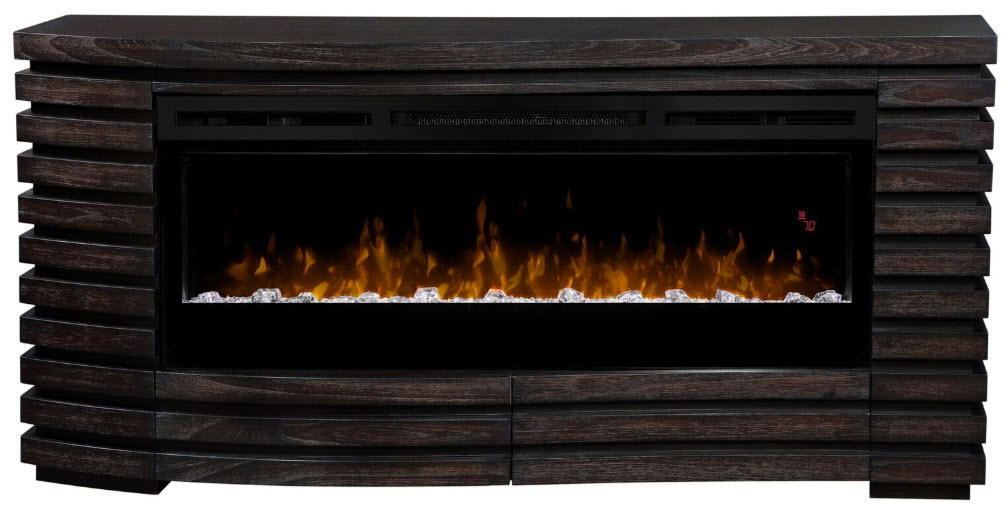 70 elliot mantel with prism glass ember bed fireplace - Going to bed with embers in fireplace ...