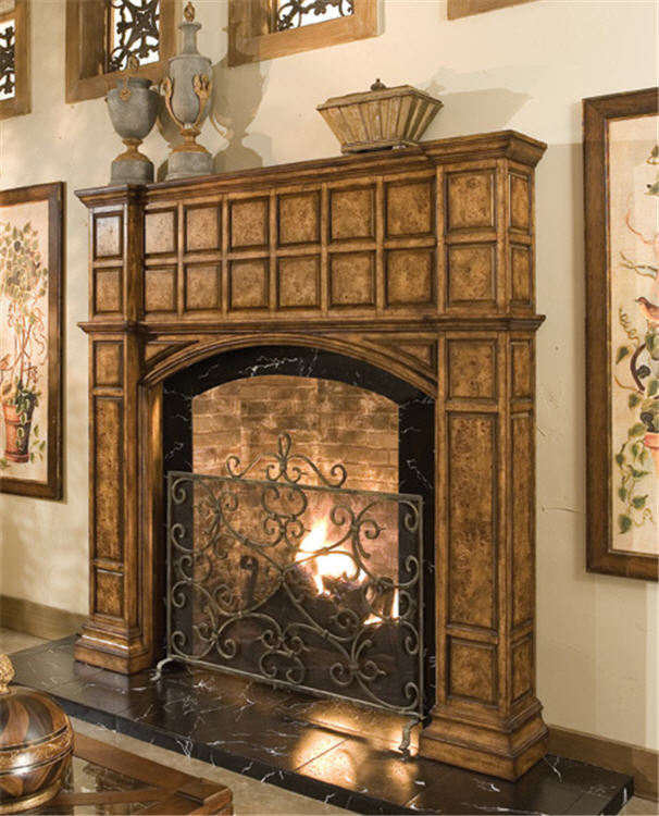 Wentworth Fireplace Surround With Hidden Storage