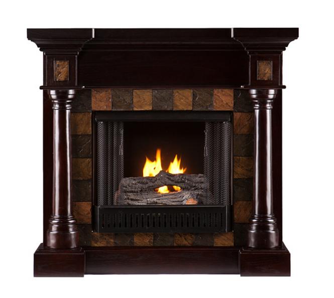 44 5 Carrington Classic Espresso Convertible Gel Fireplace Fg8748 Portablefireplace