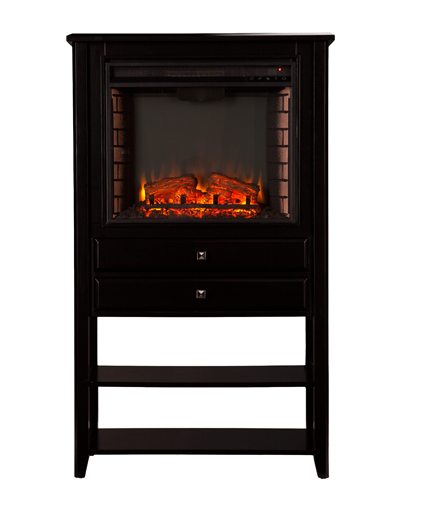 32 25 quot vickery corner convertible electric fireplace