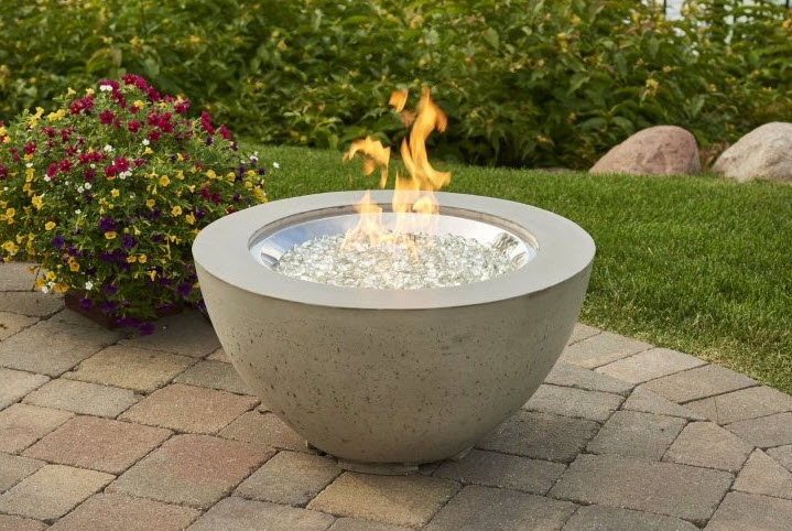 Stainless Steel W/ Separate Fire Pit (Not Included)