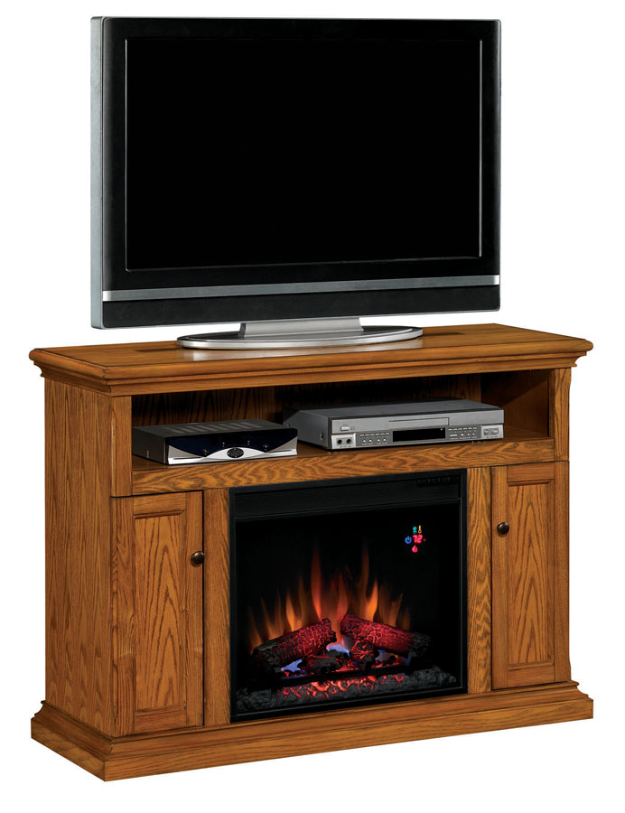 cannes antique oak entertainment center electric. Black Bedroom Furniture Sets. Home Design Ideas