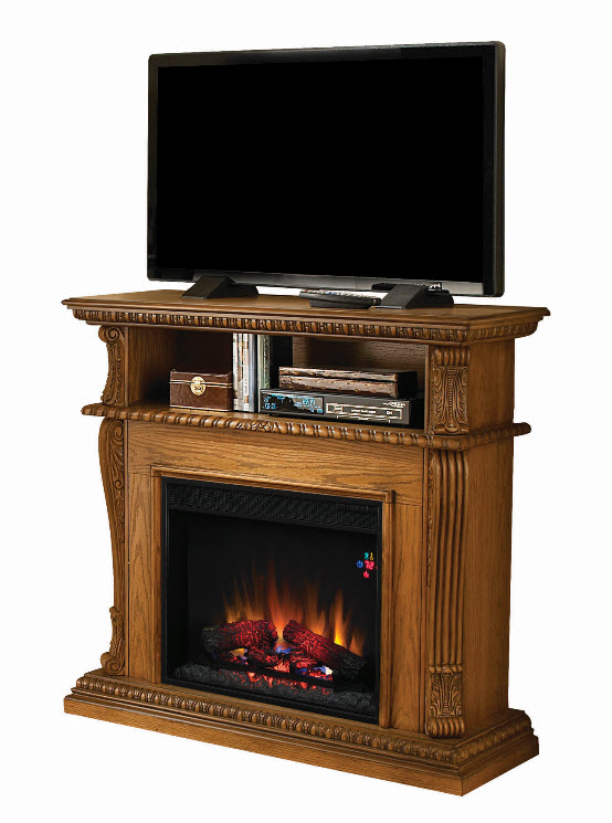 42 39 39 corinth premium oak entertainment center wall and