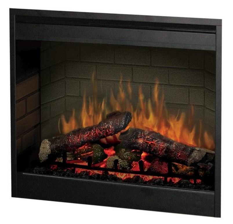 27 4 Dimplex Self Trimming Electric Fireplace Insert