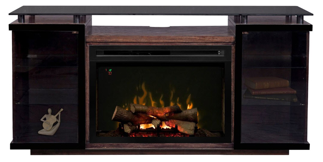 71 Quot Dimplex Aiden Media Console Fireplace Gds33l4 1582pc