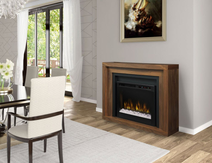 48 dimplex anthony mantel electric fireplace with glass - Going to bed with embers in fireplace ...