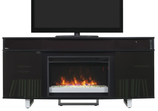 64 Quot New Enterprise Infrared Media Electric Fireplace W
