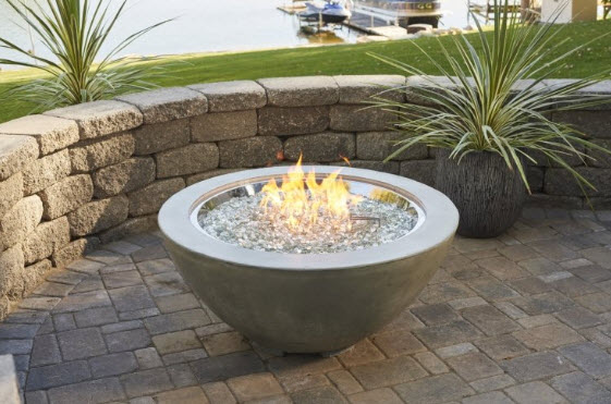 Stainless Steel Burner Inside Separate Fire Pit (Sold Seperately)