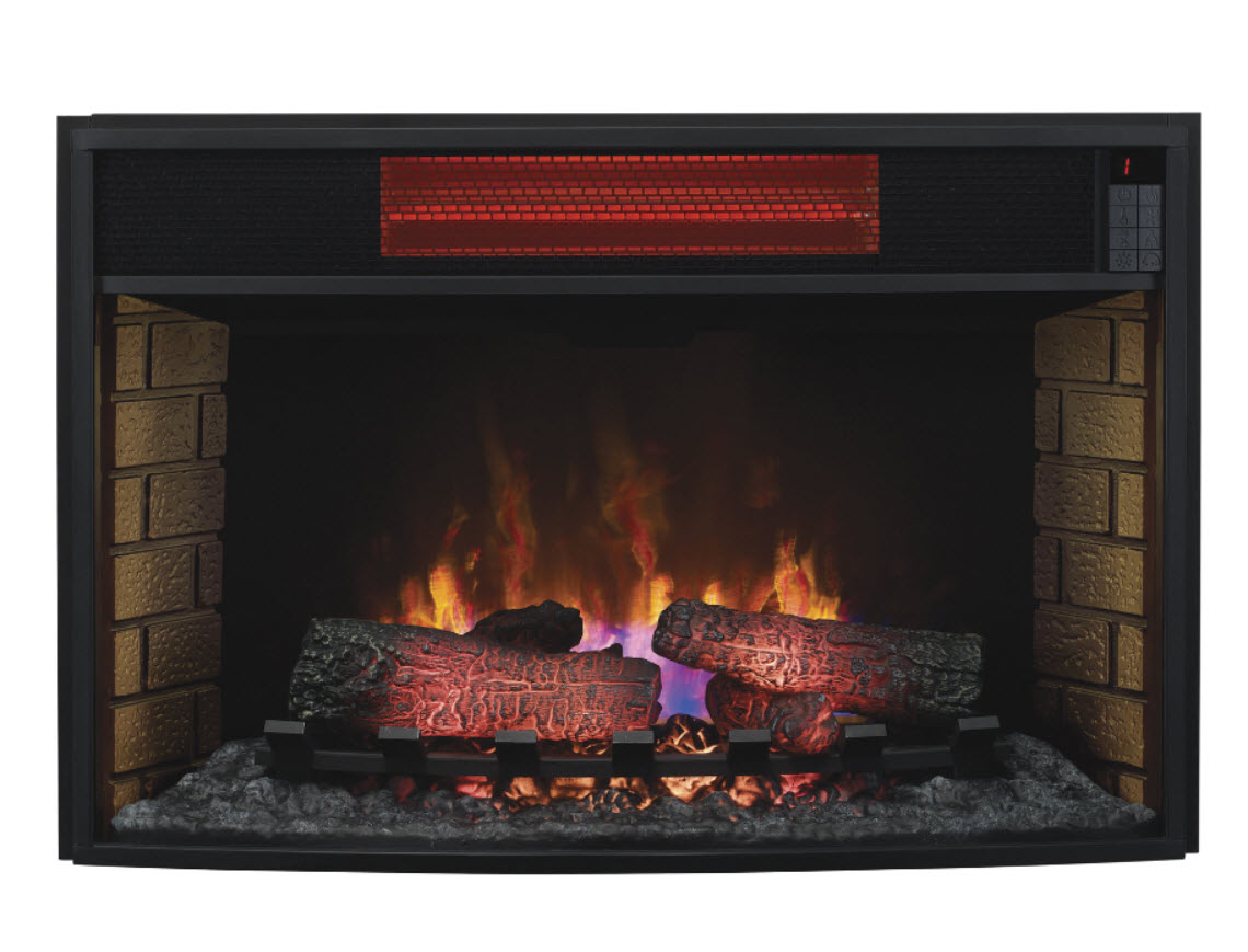 32 Inch Classic Flame Infrared Spectrafire Fireplace Insert