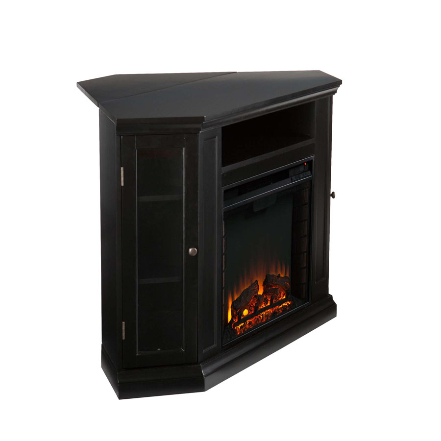 48 Claremont Convertible Media Electric Fireplace Black Fe9315
