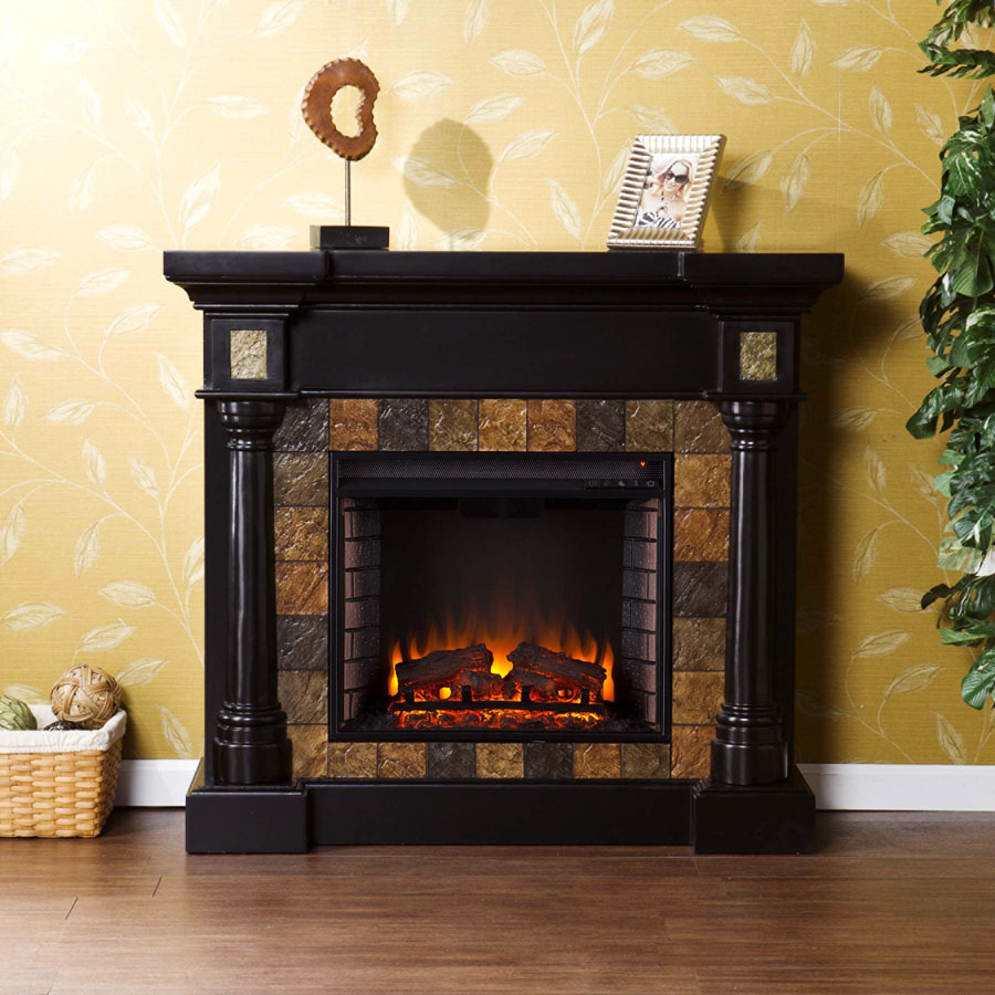 Holly & Martin Weatherford Convertible Electric Fireplace