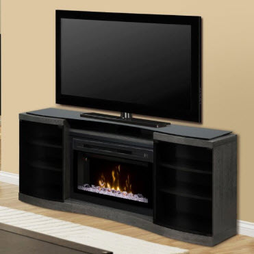 72 5 Quot Dimplex Acton Media Console And Electric Fireplace