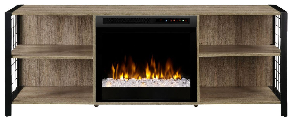 65 dimplex asher media console electric fireplace with - Going to bed with embers in fireplace ...