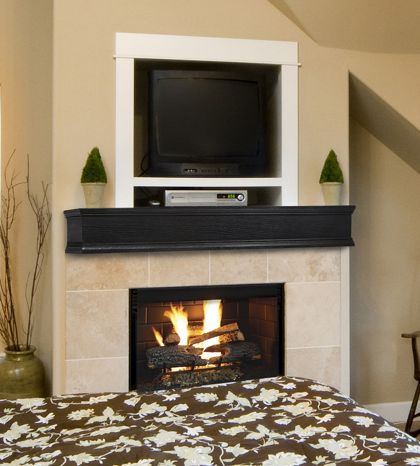 mantel il mantle stained zoom en style fullxfull listing beam wall gray fireplace wood shelf in