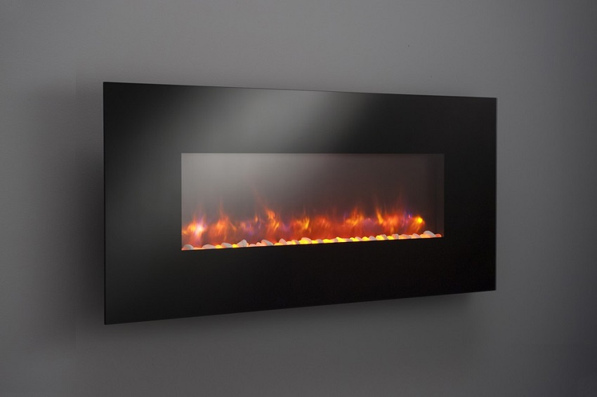 "58"" Gallery Collection Linear Electric Fireplace"