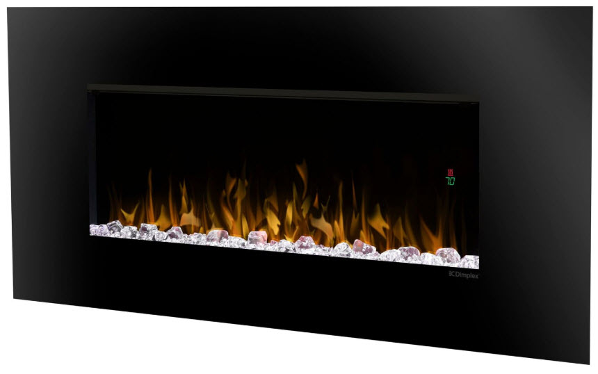 52 Dimplex Contempra Wall Mount Electric Fireplace