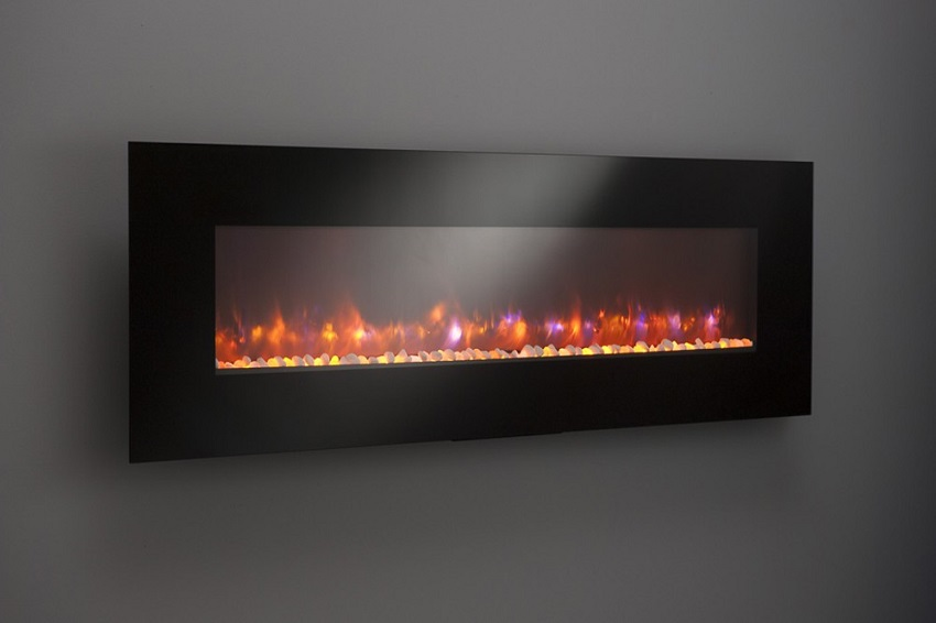"70"" Gallery Collection Linear Electric Fireplace"