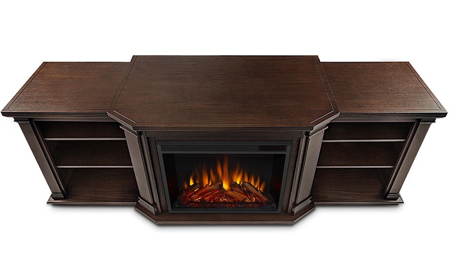 Chestnut Oak Electric Fireplace Top