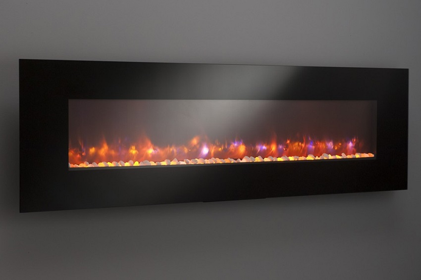 "94"" Gallery Collection Linear Electric Fireplace"